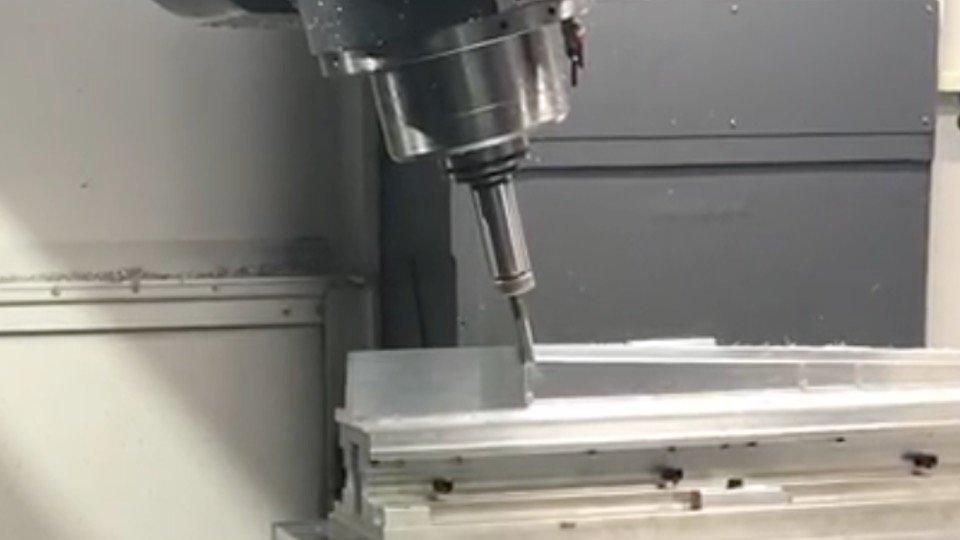 5 Axis Machining, aerospace parts